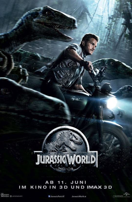 Jurassic World Cover Art