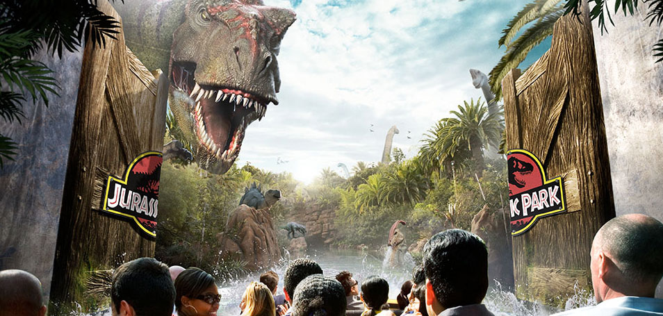 Universal Studios Hollywood<sup>SM</sup> Los Angeles, California Jurassic Park<sup>®</sup> The Ride